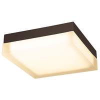 WAC Lighting FM-4012-27-BZ Dice LED 12 inch Bronze Flush Mount Ceiling Light in 2700K