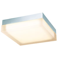 WAC Lighting FM-4012-27-CH Dice LED 12 inch Chrome Flush Mount Ceiling Light in 2700K