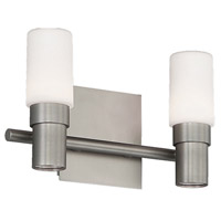 Elementum LED 12 inch Satin Nickel ADA Wall Sconce Wall Light in 12in, dweLED