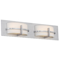 Compass LED 22 inch Brushed Aluminum Vanity Light Wall Light in 22in, dweLED