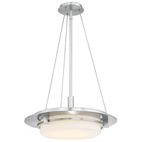 Compass LED 20 inch Brushed Aluminum Outdoor Pendant