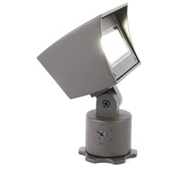 WAC Lighting 5021-27BZ Landscape LED 6 inch Bronze Flood Light in 2700K, 85