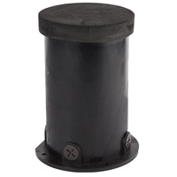 WAC Lighting 5030-PIP-PVC Landscape 12-120v Black Well Light