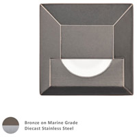 WAC Lighting 2061-30BS Landscape 12v 4.00 watt Bronzed Stainless Steel Step and Wall Light photo thumbnail