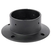WAC Lighting 2000-CON-PVC Landscape Black Mounting Accessory