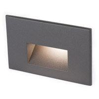 WAC Lighting 4011-27BZ Landscape 12v 2.00 watt Bronze Step and Wall Light in 2700K, Frosted