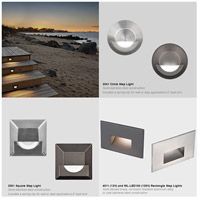 WAC Lighting 4011-30BZ Landscape 12v 2.00 watt Bronze Step and Wall Light in 3000K, Frosted alternative photo thumbnail