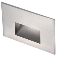 WAC Lighting 4011-30SS Landscape 12v 2.00 watt Stainless Steel Step and Wall Light in 3000K, Frosted