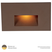 WAC Lighting WL-LED100-AM-BBR LEDme 120V 3.90 watt Bronzed Brass Step Light