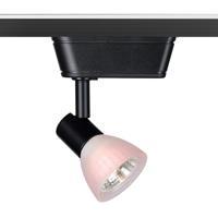 WAC Lighting HHT-8141-WT/BK HT-814 1 Light 120V Black Track Lighting Ceiling Light
