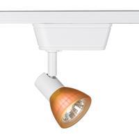 WAC Lighting JHT-8141-AM/WT HT-814 1 Light 120V White Track Lighting Ceiling Light