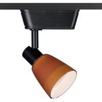 WAC Lighting JHT-8144-AM/BK HT-814 1 Light 120V Black Track Lighting Ceiling Light