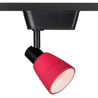 WAC Lighting JHT-8144-RD/BK HT-814 1 Light 120V Black Track Lighting Ceiling Light