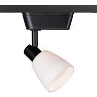 WAC Lighting JHT-8144-WT/BK HT-814 1 Light 120V Black Track Lighting Ceiling Light