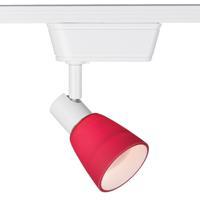 WAC Lighting JHT-8144-RD/WT HT-814 1 Light 120V White Track Lighting Ceiling Light