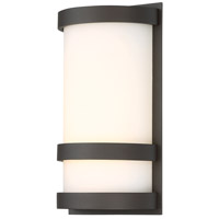 WAC Lighting WS-W52610-BZ Latitude LED 6 inch Bronze ADA Wall Light in 10in, dweLED