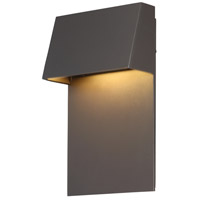 Zealous LED 10 inch Bronze Outdoor Wall Light, dweLED