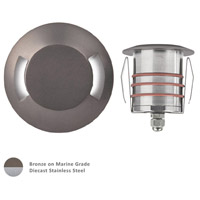 Signature LED 3 inch Bronzed Stainless Steel Outdoor Recessed