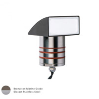 WAC Lighting 2081-30BS Signature Bronzed Stainless Steel Outdoor Indicator Light