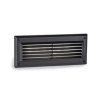 Endurance 120V 5.50 watt Architectural Black Brick Light