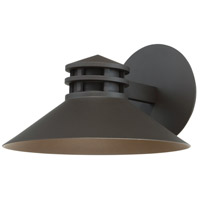 WAC Lighting WS-W15710-BZ Sodor LED 10 inch Bronze Wall Light in 10in, dweLED