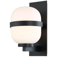 Gaia LED 14 inch Black Outdoor Wall Light, dweLED
