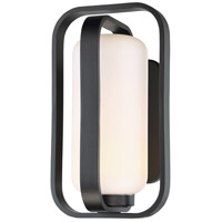 Vertigo LED 16 inch Black Outdoor Wall Light, dweLED