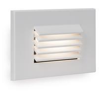 WAC Lighting WL-LED120-C-WT Signature 120V 3.5 watt White Step and Wall Light