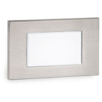 Signature 120V 3.5 watt Stainless Steel Step and Wall Light