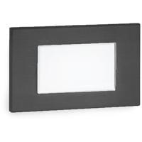 WAC Lighting WL-LED130F-C-BK Signature 277V 3.50 watt Black Step Light