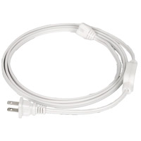 Flexline White Power Cord