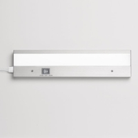 Duo 24 inch Brushed Aluminum Undercabinet Lighting