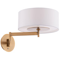 WAC Lighting BL-83023-AB Chelsea 23 inch 9 watt Aged Brass Headboard Light Wall Light dweLED