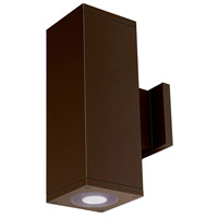 WAC Lighting DC-WD05-U827B-BZ Cube Architectural LED 5 inch Bronze Wall Sconce Wall Light