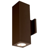 WAC Lighting DC-WD06-F827A-BZ Cube Architectural Bronze Wall Lighting