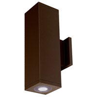 WAC Lighting DC-WD06-U827B-BZ Cube Architectural LED 6 inch Bronze Wall Sconce Wall Light
