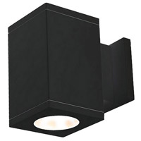 WAC Lighting DC-WS05-S830S-BK Cube Architectural LED 5 inch Black Wall Sconce Wall Light