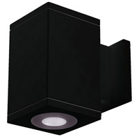 WAC Lighting DC-WS05-U830B-BK Cube Architectural LED 5 inch Black Wall Sconce Wall Light