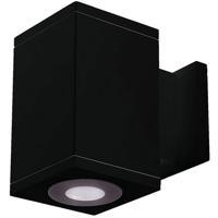 WAC Lighting DC-WS05-U840B-BK Cube Architectural LED 5 inch Black Wall Sconce Wall Light