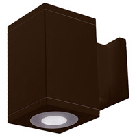 WAC Lighting DC-WS05-U830B-BZ Cube Architectural LED 5 inch Bronze Wall Sconce Wall Light