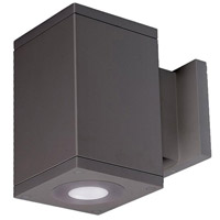 WAC Lighting DC-WS05-U827B-GH Cube Architectural LED 5 inch Graphite Wall Sconce Wall Light