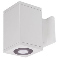 WAC Lighting DC-WS05-U830B-WT Cube Architectural LED 5 inch White Wall Sconce Wall Light