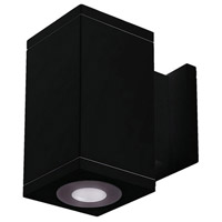 Black Cube Architectural Wall Sconces