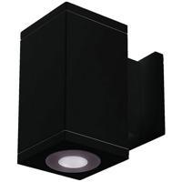 WAC Lighting DC-WS06-U827B-BK Cube Architectural LED 6 inch Black Wall Sconce Wall Light