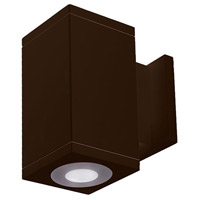 WAC Lighting DC-WS06-U827B-BZ Cube Architectural LED 6 inch Bronze Wall Sconce Wall Light