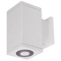 WAC Lighting DC-WS06-U827B-WT Cube Architectural LED 6 inch White Wall Sconce Wall Light