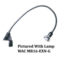 WAC Lighting DL-214-BK Display Lighting Black 50 watt 1 Light Display Light Low Voltage