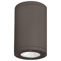 WAC Lighting DS-CD05-F40-BZ Tube Architectural LED 5 inch Bronze Outdoor Flush Mount