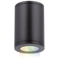 WAC Lighting DS-CD05-S-CC-BK Tube Architectural LED 5 inch Black Outdoor Flush Mount