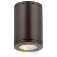 WAC Lighting DS-CD05-S-CC-BZ Tube Architectural LED 5 inch Bronze Outdoor Flush Mount